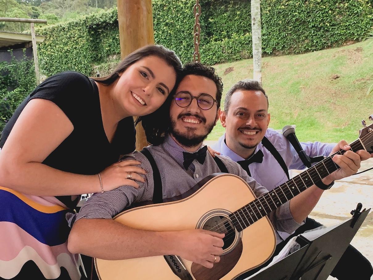 Casamento Jade e Caio Voz Violao e Cajon 06