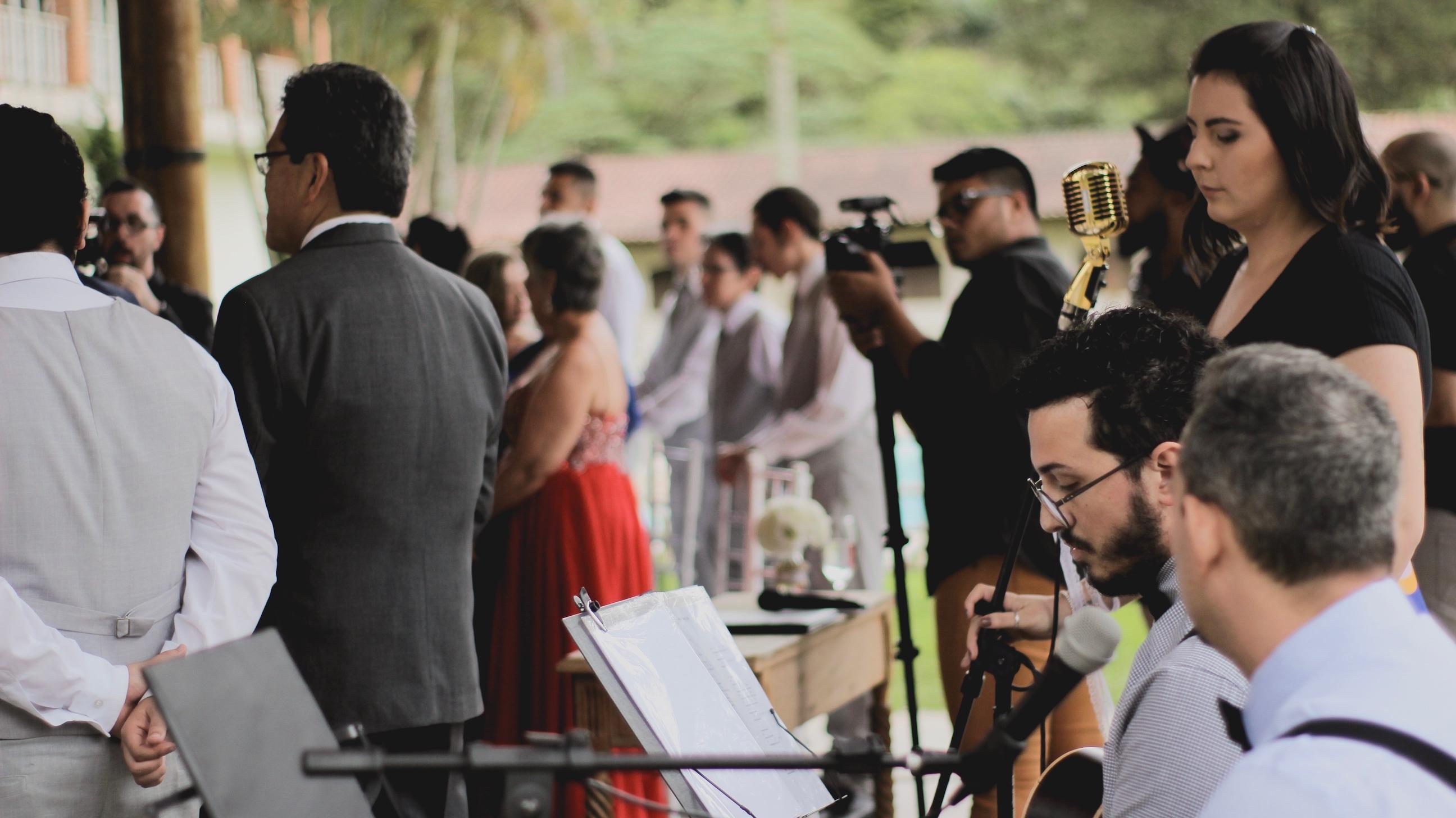 Casamento Jade e Caio Voz Violao e Cajon 12