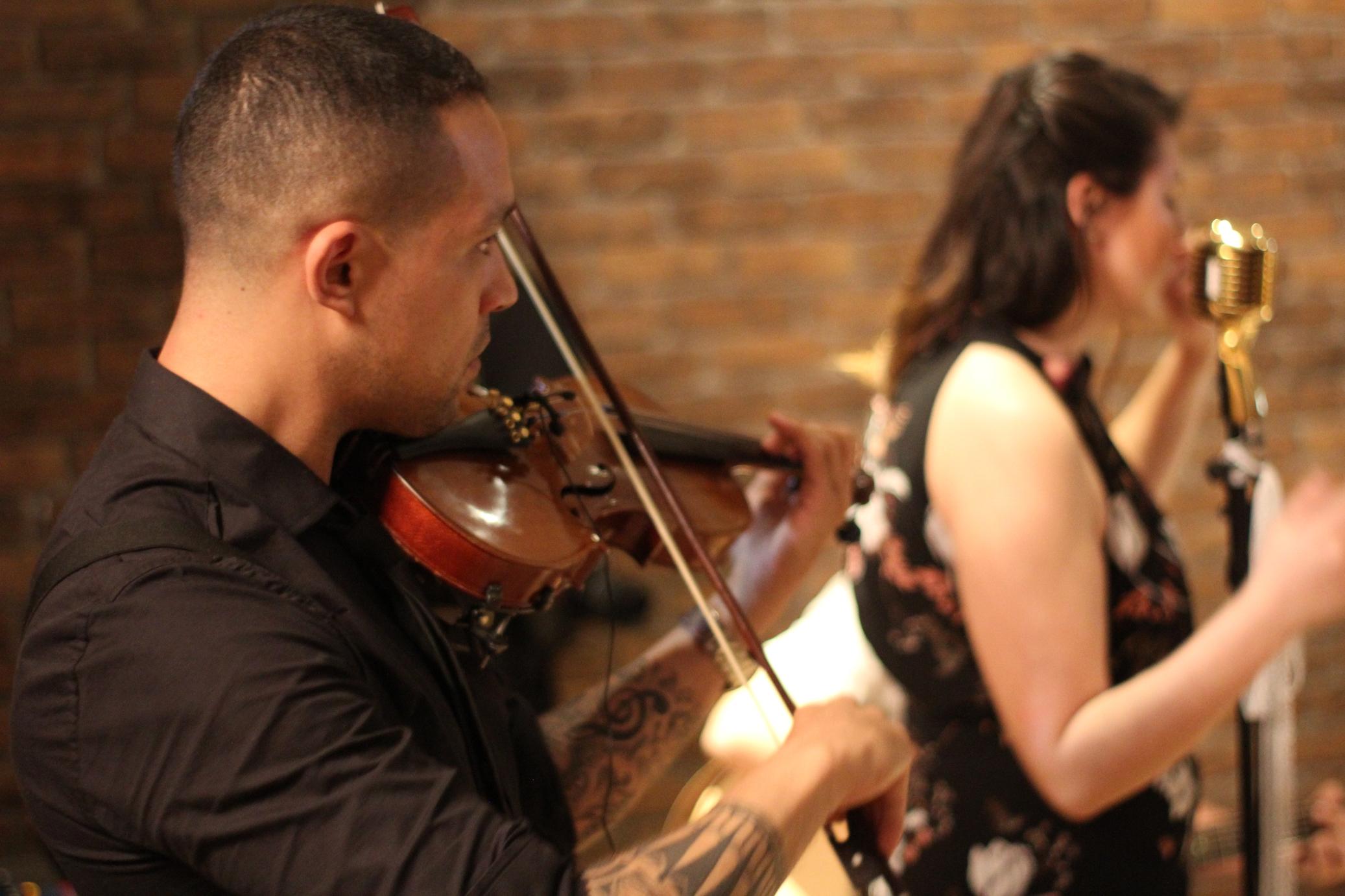 Casamento Leidi e Ale Voz, Violão e Violino 05