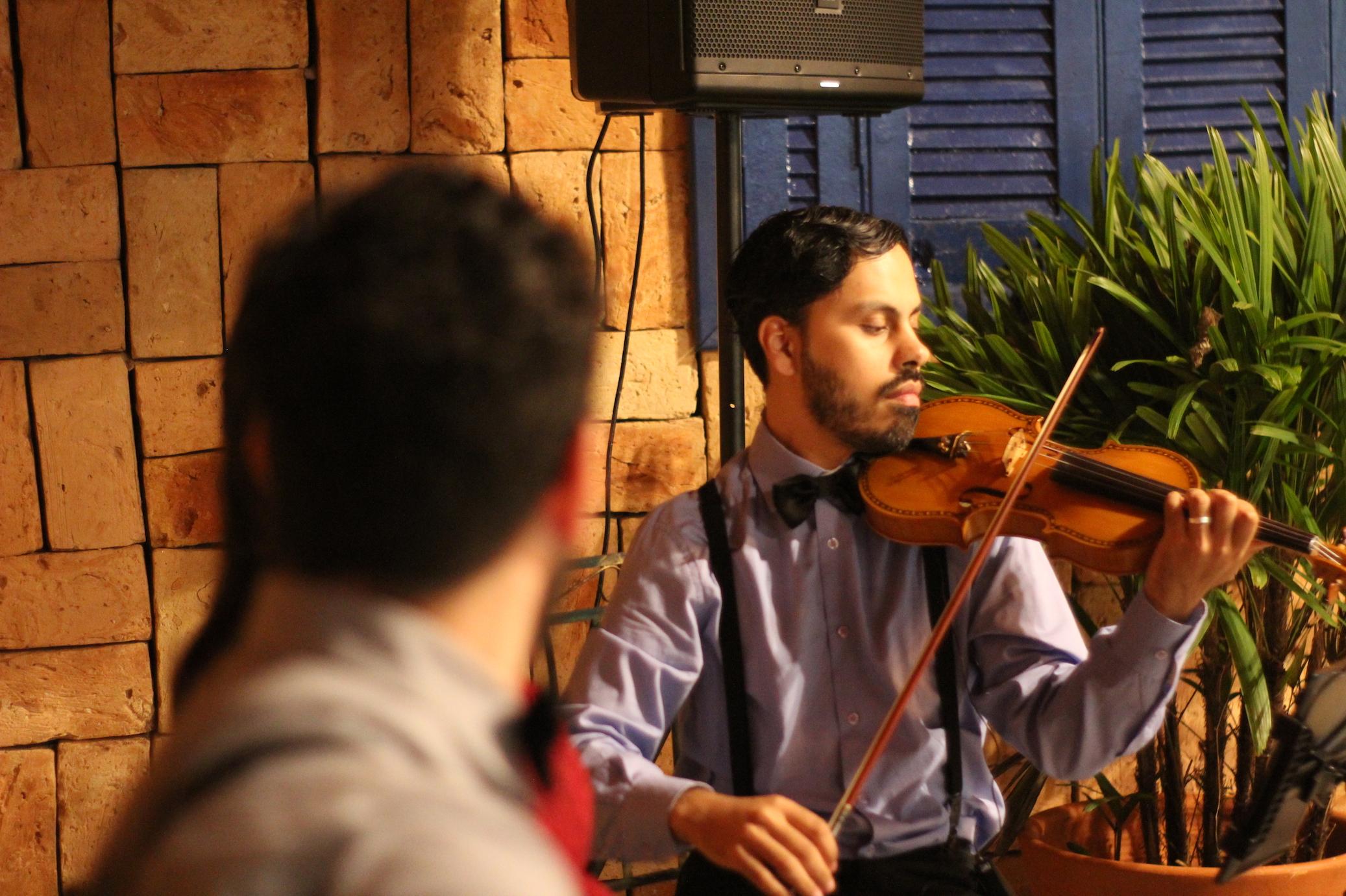 Casamento Mayara e Rodrigo Voz Violao e Violino 01
