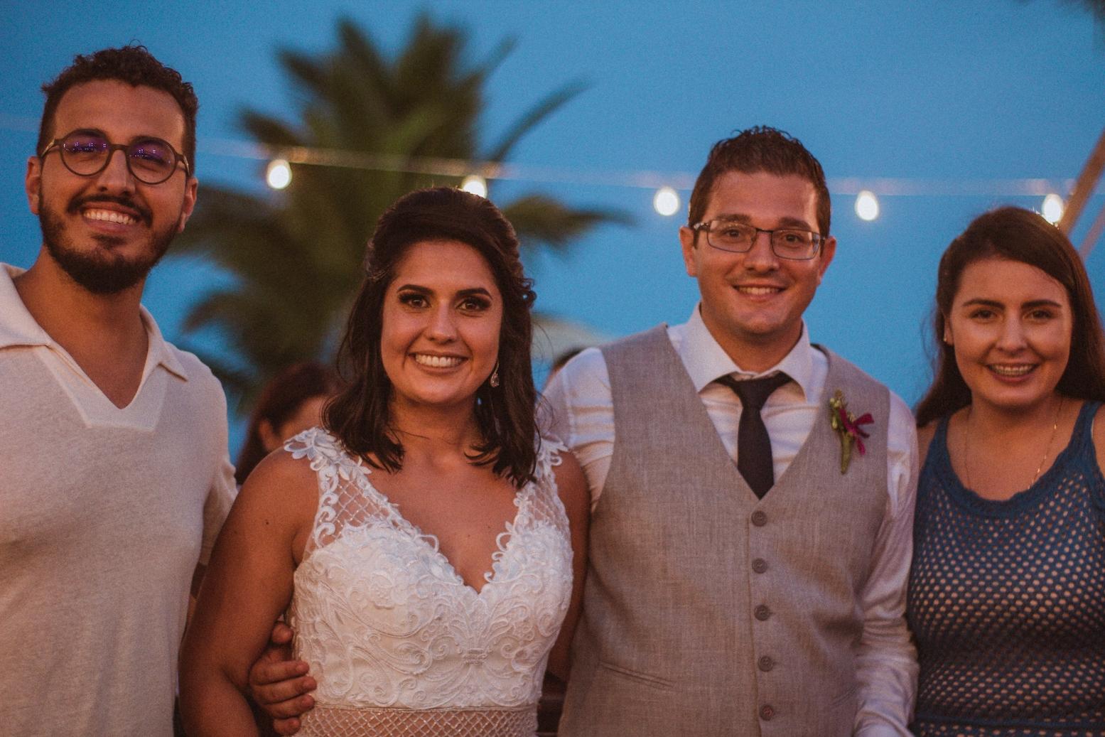 Casamento Patrícia e Bruno Voz e Violão Praia 07