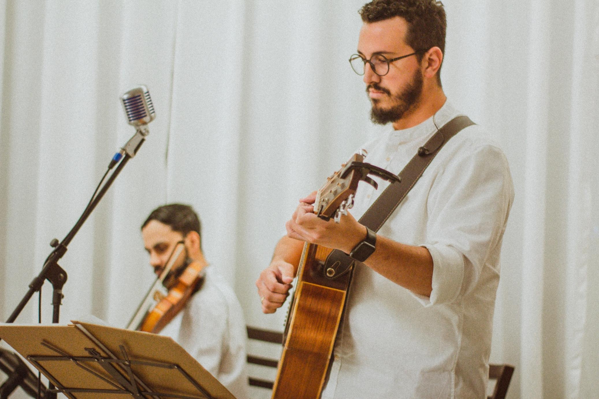 Casamento Gisele e Alexandre Voz Violão e Violino Mari e Gu 03