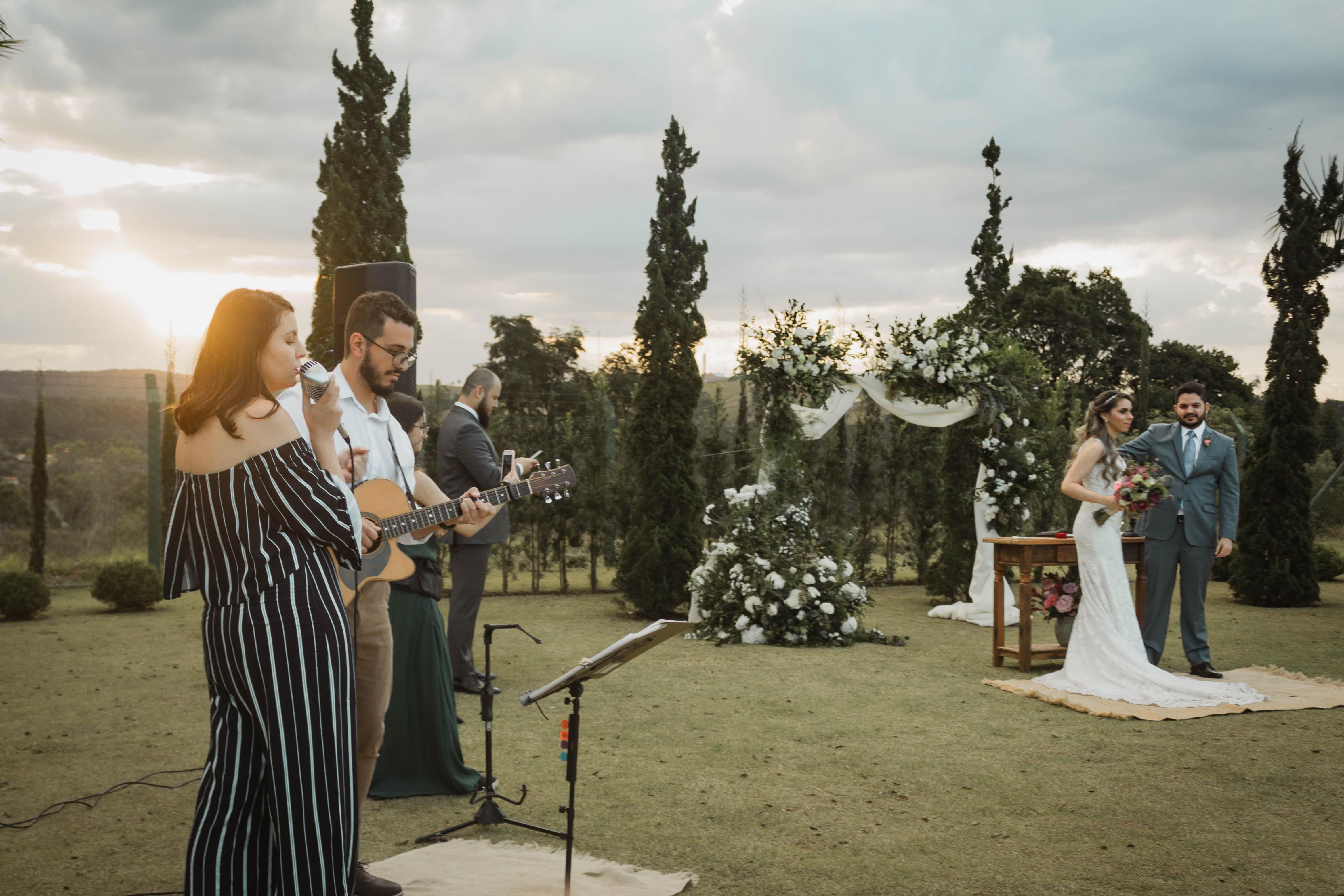 Casamento Driely e Cantídio Voz e Violão - 11