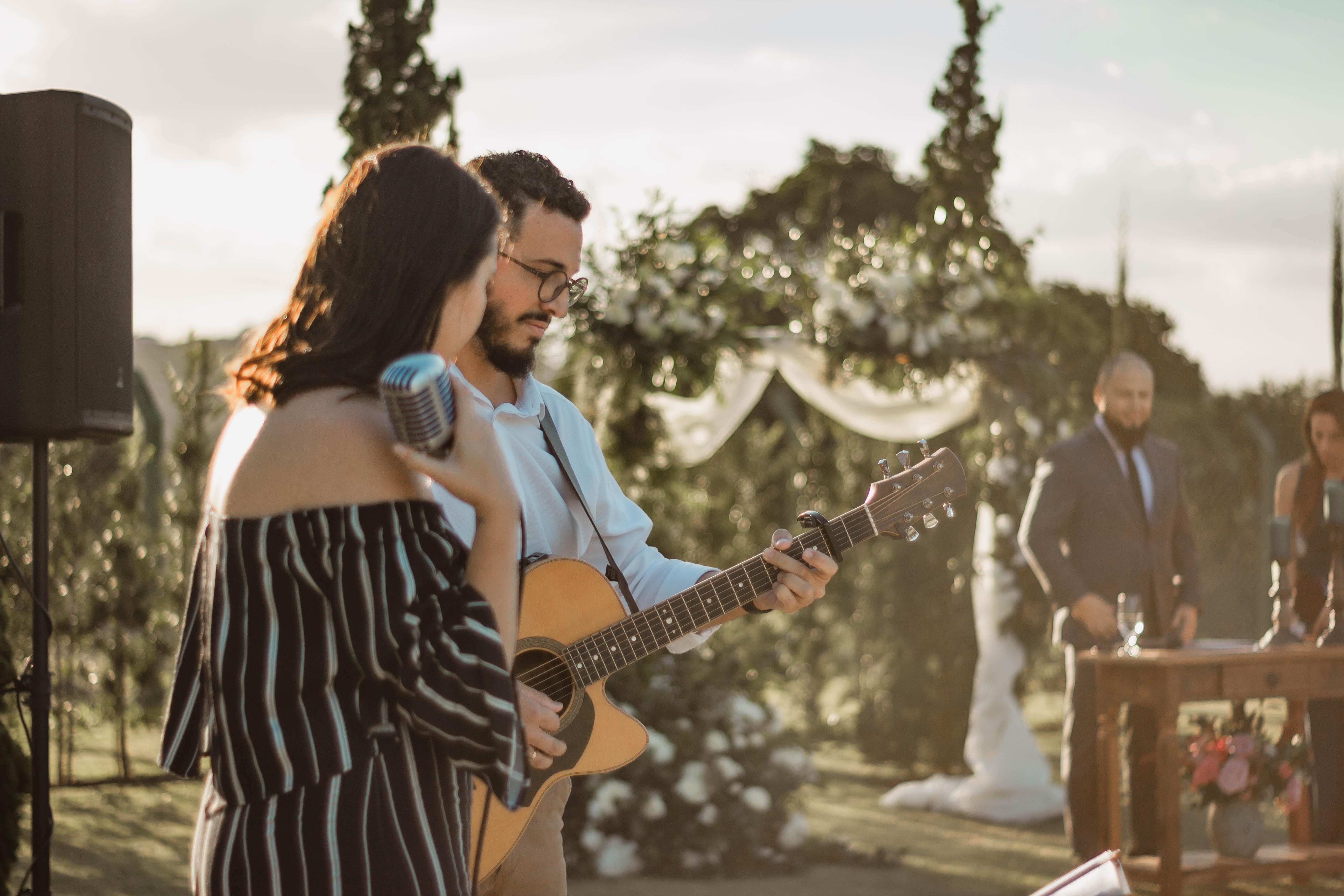 Casamento Driely e Cantídio Voz e Violão - 9
