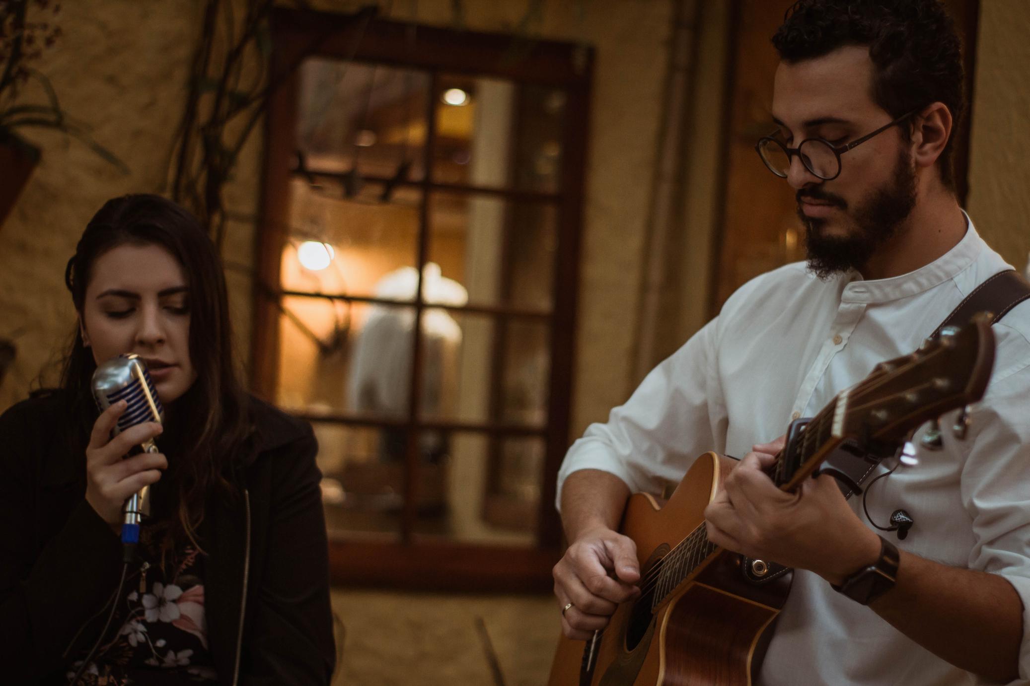 Foto Casamento Mariana e André Voz Violão Violino 05