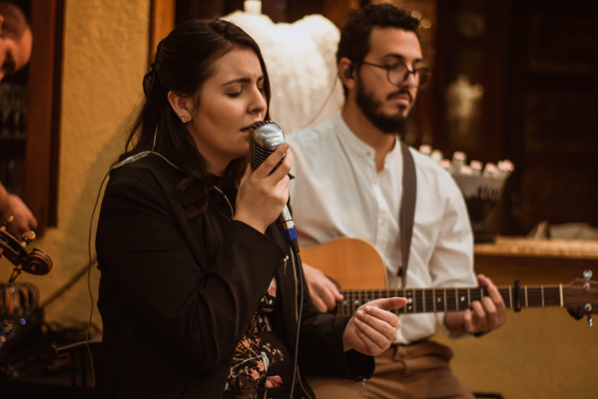 Foto Casamento Mariana e André Voz Violão Violino 07